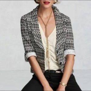 CAbi De Jour Blazer Jacket Stretch Print # 298
